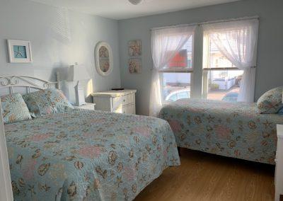 Floor 1- Bedroom 2 with Two Beds